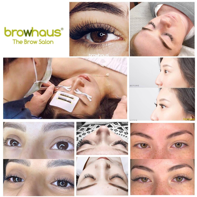 ร้านต่อขนตา 10 ร้านเด็ดในกรุงเทพ - browhaus the brow salon