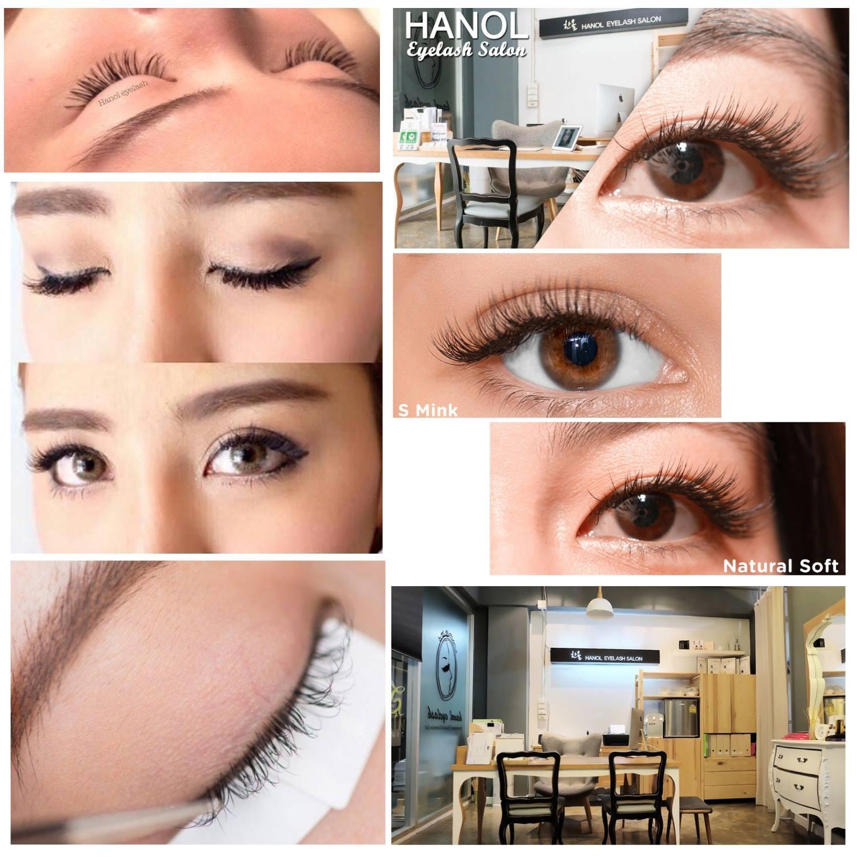 ร้านต่อขนตา 10 ร้านเด็ดในกรุงเทพ - hanol eyelash salon