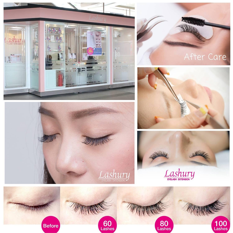 ร้านต่อขนตา 10 ร้านเด็ดในกรุงเทพ - lashury eyelash salon