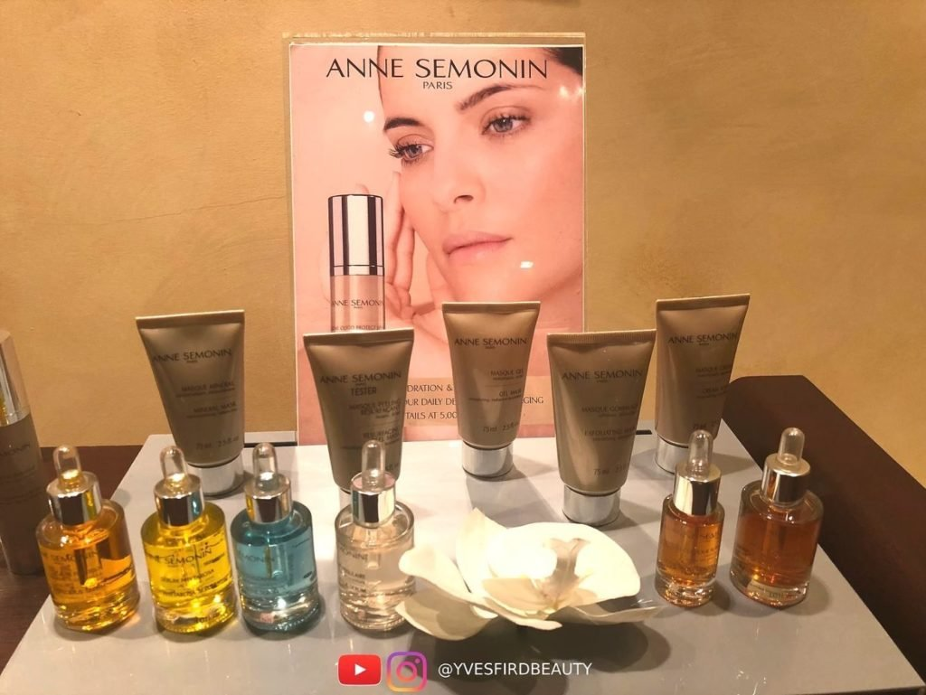 review anne semonin spa