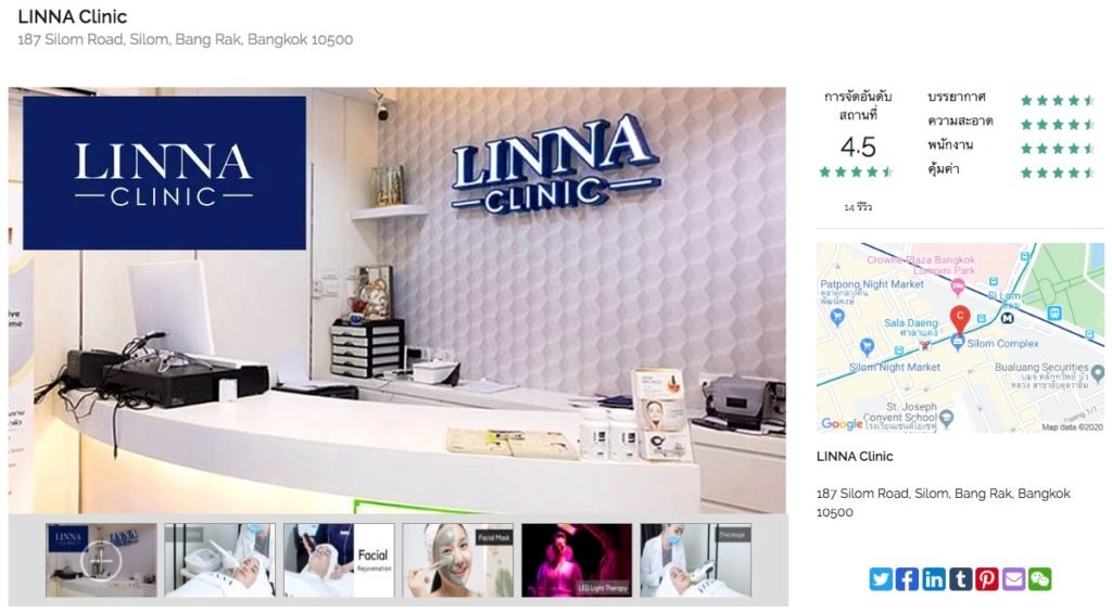 review linna clinic