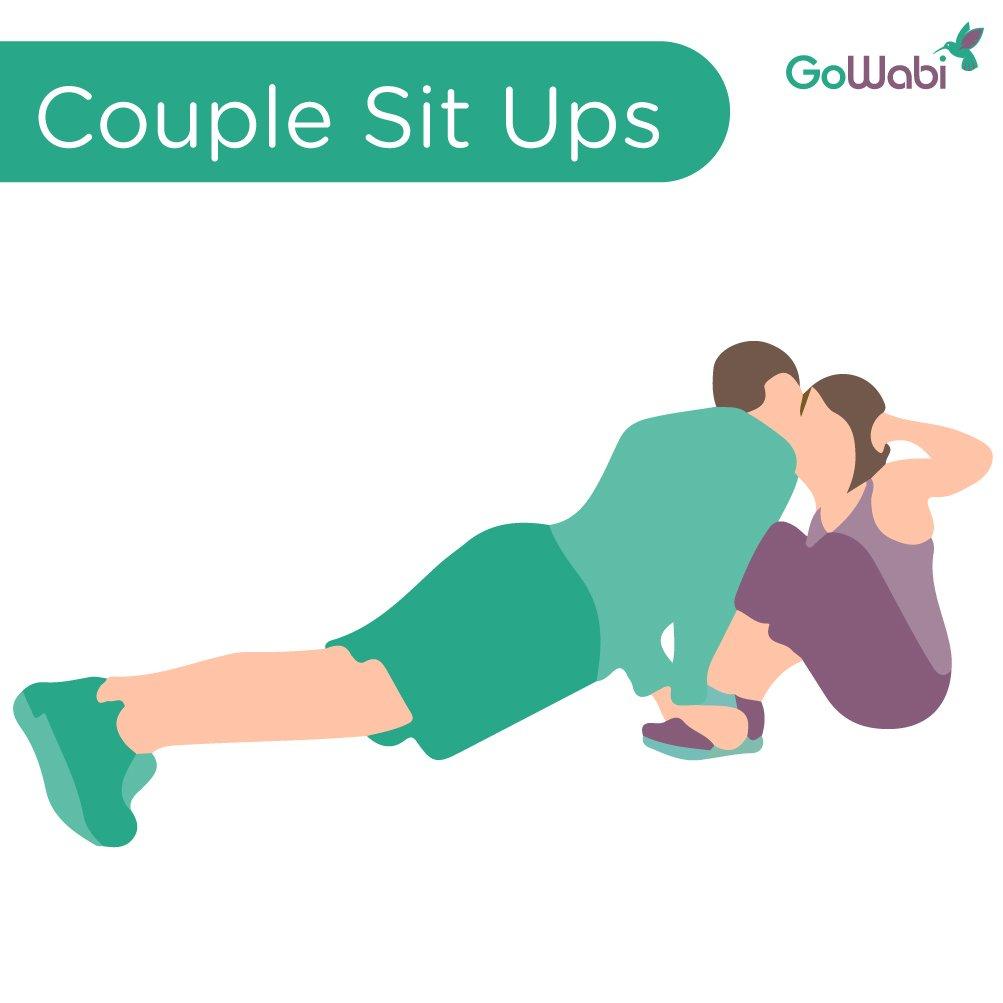6 ท่าออกกำลังกายกับแฟน แบบคู่รัก ฟิตแอนด์เฟิร์มแบบแพ็คคู่