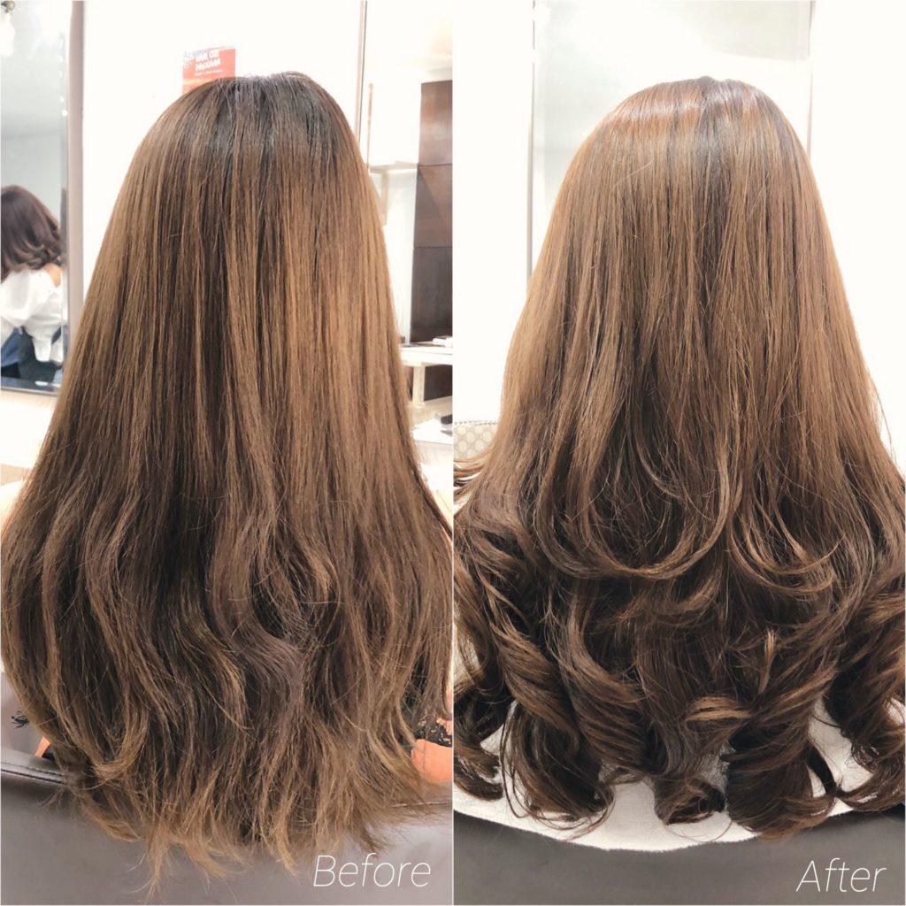 Grade A Hair Studio - [Review] รีวิวดัดดิจิตอล ทำทรีทเม้นท์ ลอนเด้ง เงา สวย