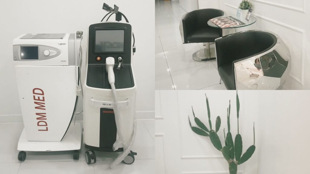 Bong Bong Clinic - [REVIEW] รีวิว Waterdrop Lifting  + Diode 808nm Hair Removal  สวยตามสั่งทั้งใบหน้า&รักแร้ ใช้เวลาเพียงแค่ 35 นาที!