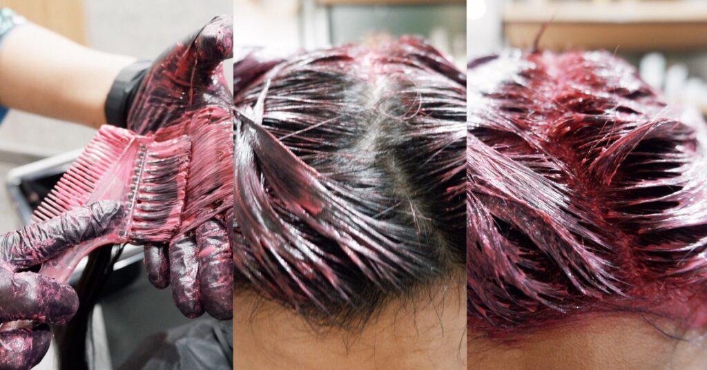 Starlab Hair&Co - [Review] รีวิว Hair Coloring + Hair Cut by Stylist ทำผมสีเบอร์กันดี้ แรงกำลังดี สีสวยกำลังโดน!