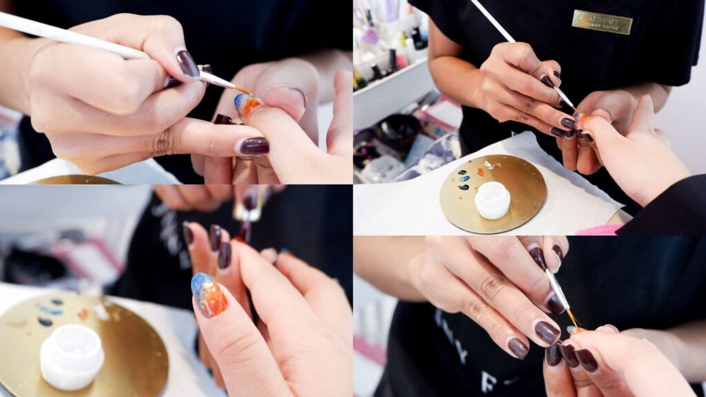 Jenny Focus – [REVIEW] รีวิว Gel Polish (Unlimited Colors) + Nail Art 10 นิ้วสุดปังสไตล์ญี่ปุ่น
