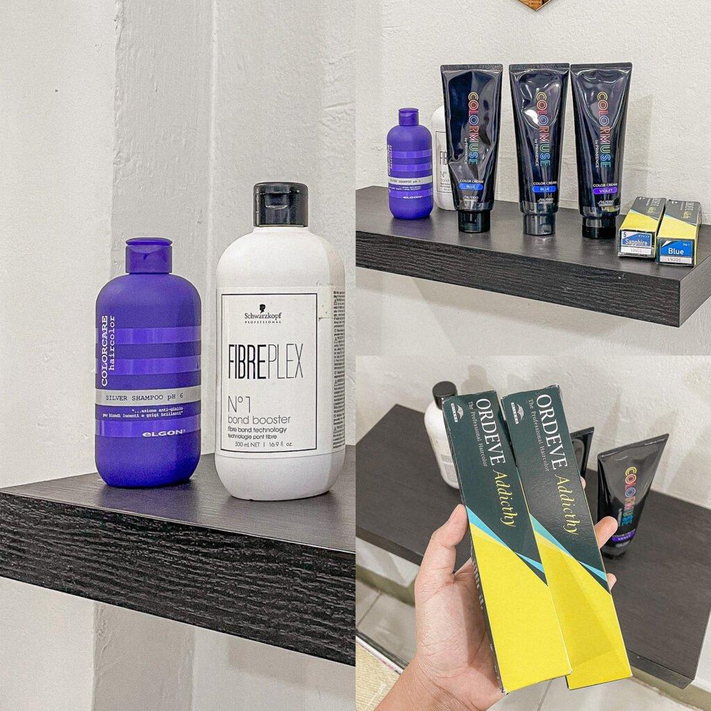 GPA HAIR SALON - [REVIEW] Keratin treatment + ทำสีผมสไตล์ญี่ปุ่น (dark green-blue)