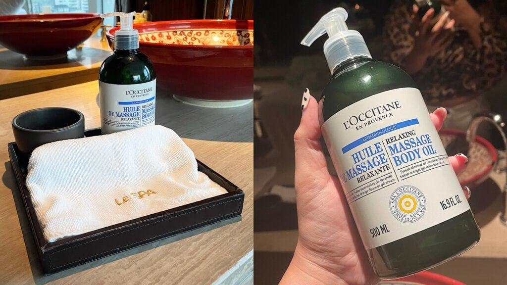 Le SPA with L'Occitane  - [REVIEW] รีวิว Relaxing Aromachology Massage เติมเต็มวันเหนื่อยๆ กับสปาสุดหรูใจกลางเมือง