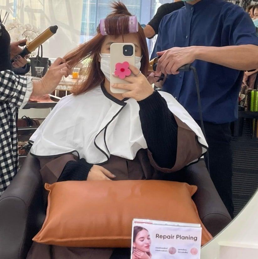 Salon Beau - [REVIEW] ทำสีผมสวยเก๋ ไม่แห้งเสีย