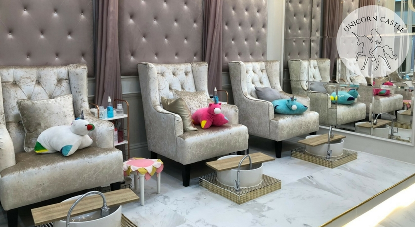 Admirable Book Online At Gowabi Unicorn Castle Nail Spa Home Interior And Landscaping Ologienasavecom