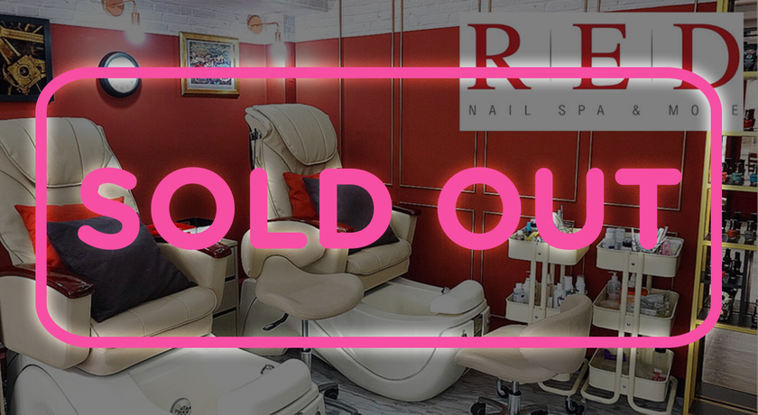 Red nail sold out