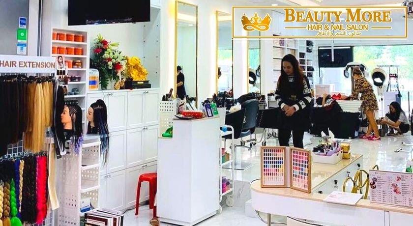 Beauty more hair nail salon