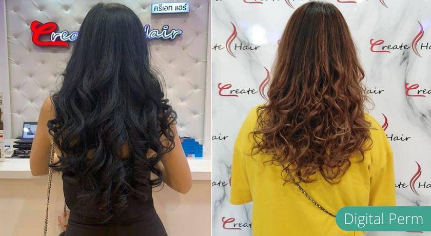 Create hair cut