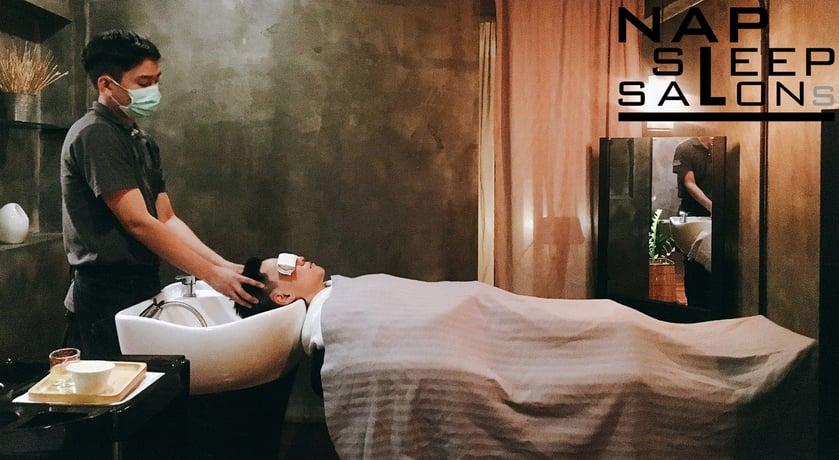ร้านตัดผม ใกล้ MRT - nap sleep salons