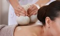 Herbal ball massage