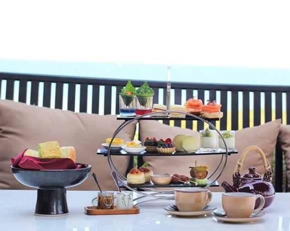 Hyatt regency hua hin afternoon tea set