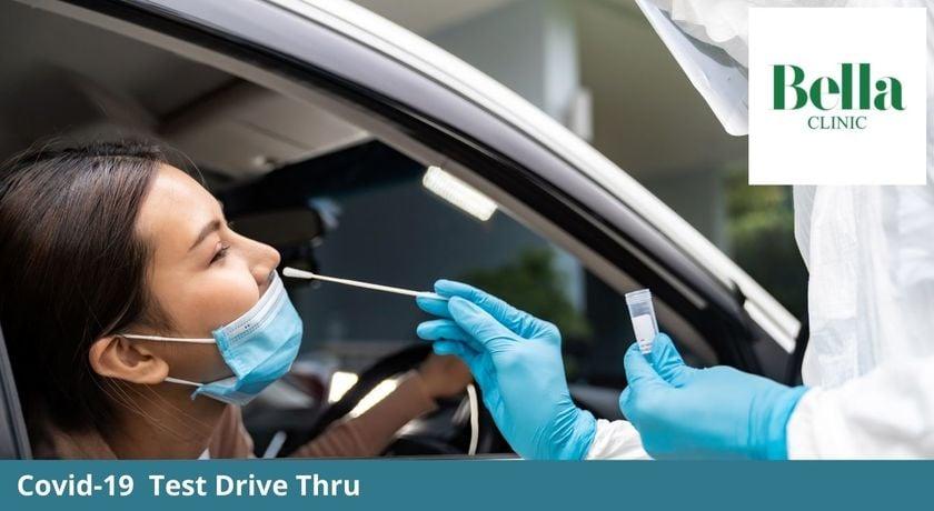 Covid 19 rapid antigen test drive thru by bella clinic %281%29